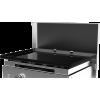 Edelstahldeckel zum Schutz für den Plancha-Grill