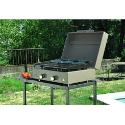 PLANCHA-GRILL SIMPLICITY MIT EMAILLIERTEM STAHL